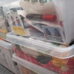 Alt er nøye pakka og sortert. (KML)