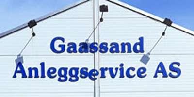 Gassand Anleggservice AS logo