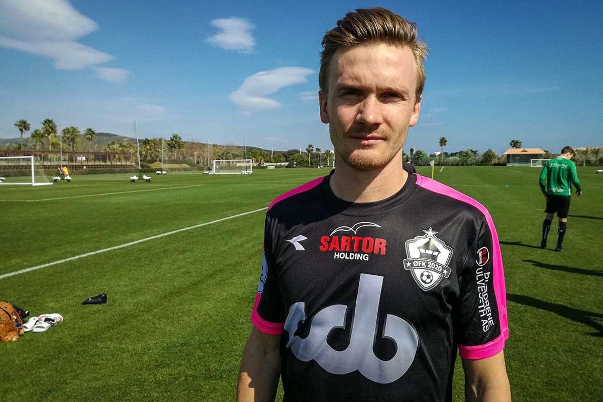Osingen Bjarte Haugsdal har hatt ei sentral rolle i klubben, både på bana som kaptein, men også som markedsansvarleg utanfor bana. (Foto: Øygarden Fotball)