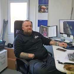 Leiar for nyoppretta dykkeavdeling, Jan-Tore Bakke. (Foto: KVB)