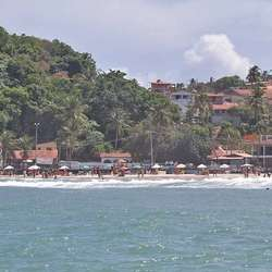 Stranda på flo sjø.  (Foto: KVB)