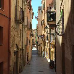 – Tarragona er som ein kompakt versjon av Barca, meiner Hans. (Foto: Os Travel)
