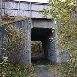 Denne tunellen er tryggare. (Foto: KVB)