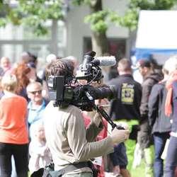 NRK Super filma til programmet Dyrevenn (foto: KVB)