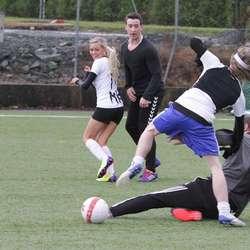 Hurricane FK tapte for Gode Venner i semifinalen i mix elite. (Foto: KVB)