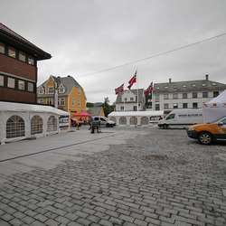 Med nytt bygolv tar Os imot Tour des Fjords i dag. (Foto: KVB)