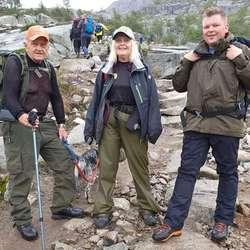 Ifølgje Ut.no tar turen 7 til 10 timar. (Foto: Katrine Bakervik Gjerde)
