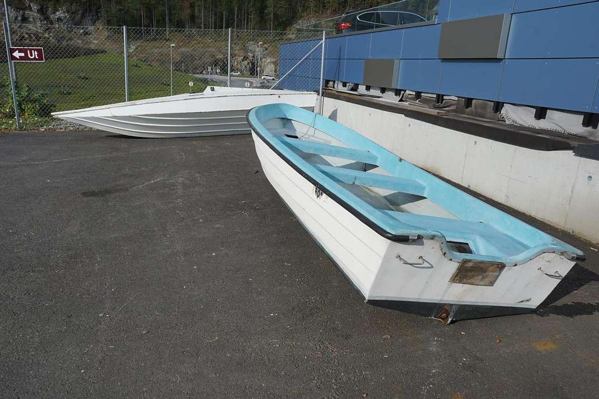 – Eg forstår at enkelte vil få seg ein gratis båt, men vi har ikkje lov å gi dei ut igjen. (Foto: KVB)