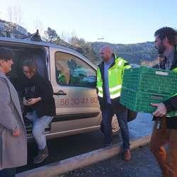 Os Asvo leverte maten til kranselaget. (Foto: KVB)
