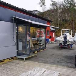 Utvidinga er ein modul brukt under sykkel-VM i Bergen. (Foto: KVB)