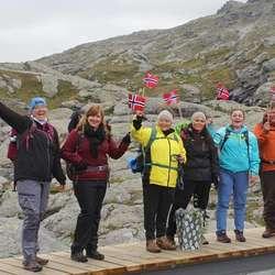 God stemning frå første steg. (Foto: Katrine Bakervik Gjerde)