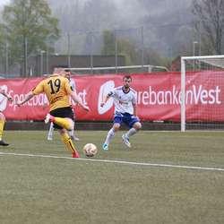 Torgeir Lunde kom til to avsluttingar. (Foto: KVB)