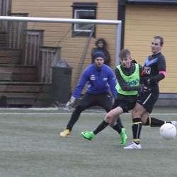 Ståle måtte til straffekonk for å slå Os United. (Foto: KVB)