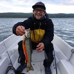 – Neste tur skal vi setja av meir tid til fiske! seier Patrik.