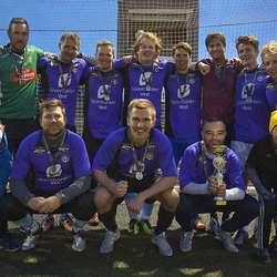 Sunday League Football vann herrar amatør for tredje år på rad. (Foto: KVB)