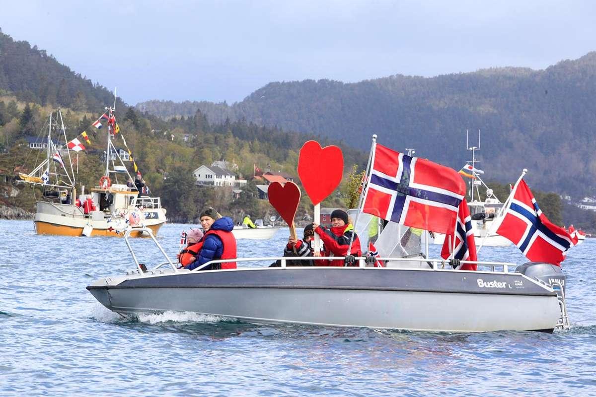 Konvoi i Øyane var det største arrangementet i fjor. Også i år blir det opp til rinanse å vera varsame og kreative. (Foto: Kjetil Vasby Bruarøy)