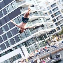 Arne inn for landing. (Foto: Christina Forstrønen Bruarøy)