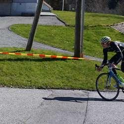 Unge Sondre Vikøyr rett bak. (Foto: Kjetil Vasby Bruarøy)