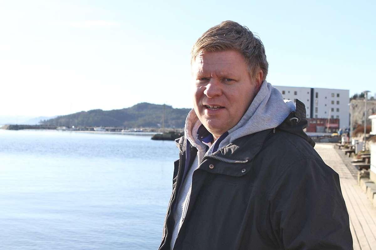 Helge Andersen meiner alle piler framleis peiker i retning indre trasé. (Arkivfoto: Kjetil Vasby Bruarøy)