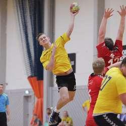 Joakim Blostrupmoen skåra 6 mål i dag.  (Foto: KVB)
