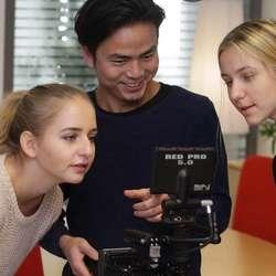 Rosa van Iterson har erfaring frå TV i Nederland. (Foto: KVB