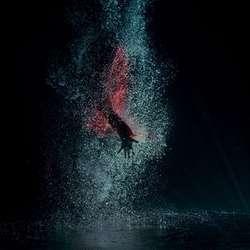 Undervannscenane er spelte inn i Osbadet. (Foto: Den Flittige Maur Produksjoner)