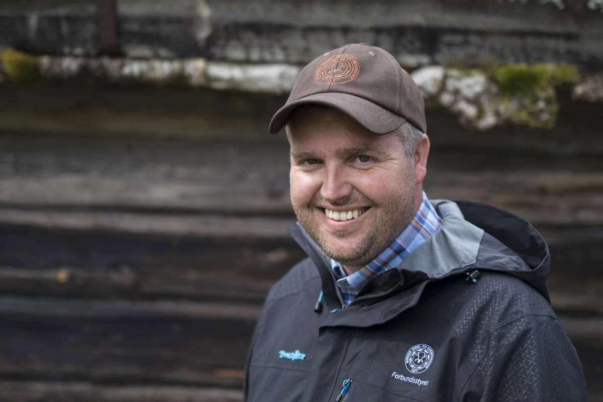 Knut Arne Gjems, leder i NJFF. Foto: @norwegiantrio/NJFF