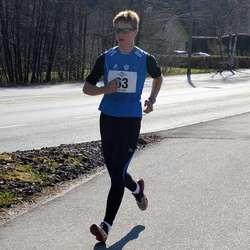 Joakim Sælen persa med 7 minutt på 15 km i dag (foto: Privat)