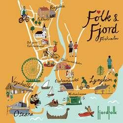 Oda Valle har illustrert folkelivet Fjordfolk vil skapa.