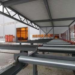 Eit tilbygg på over 150 kvm måtte til for å få plass til maskina. (Foto: KVB)