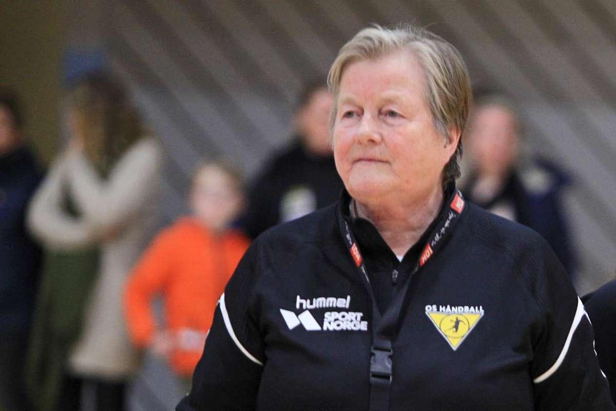 Formann i Os Turn handball, Ingerid Verpe Jacobsen. (Foto: Kjetil Vasby Bruarøy)
