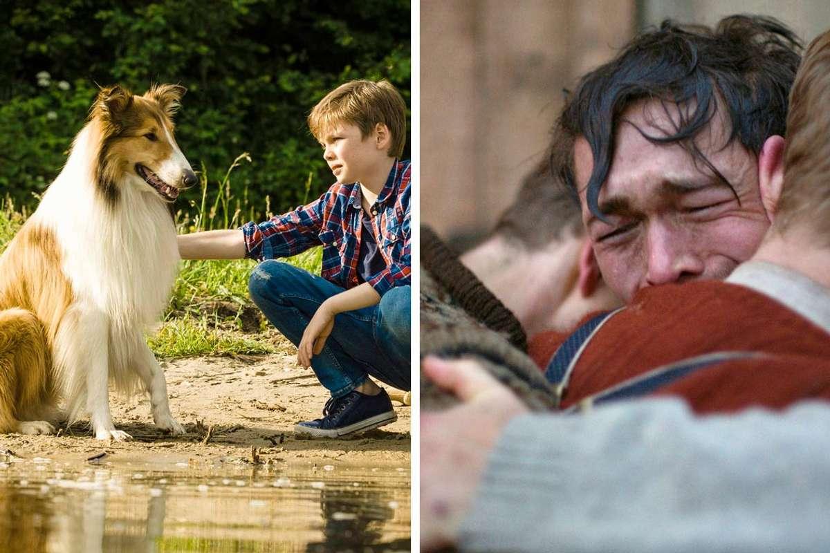 Lassie og Jakob Oftebro (t.h.) blir å sjå på lerretet i Oseana søndag. (Foto: Storytelling Media og Karl Erik Brøndbo, Fantefilm Fiksjon)