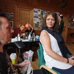 Det same gjorde debutant Linda Nytræ. (Foto: KVB)