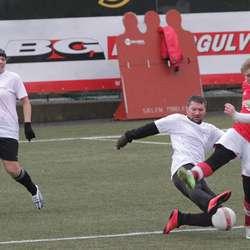 Superlaget sleit mot FC Ingenting i finalen i mix amatør. (Foto: KVB)