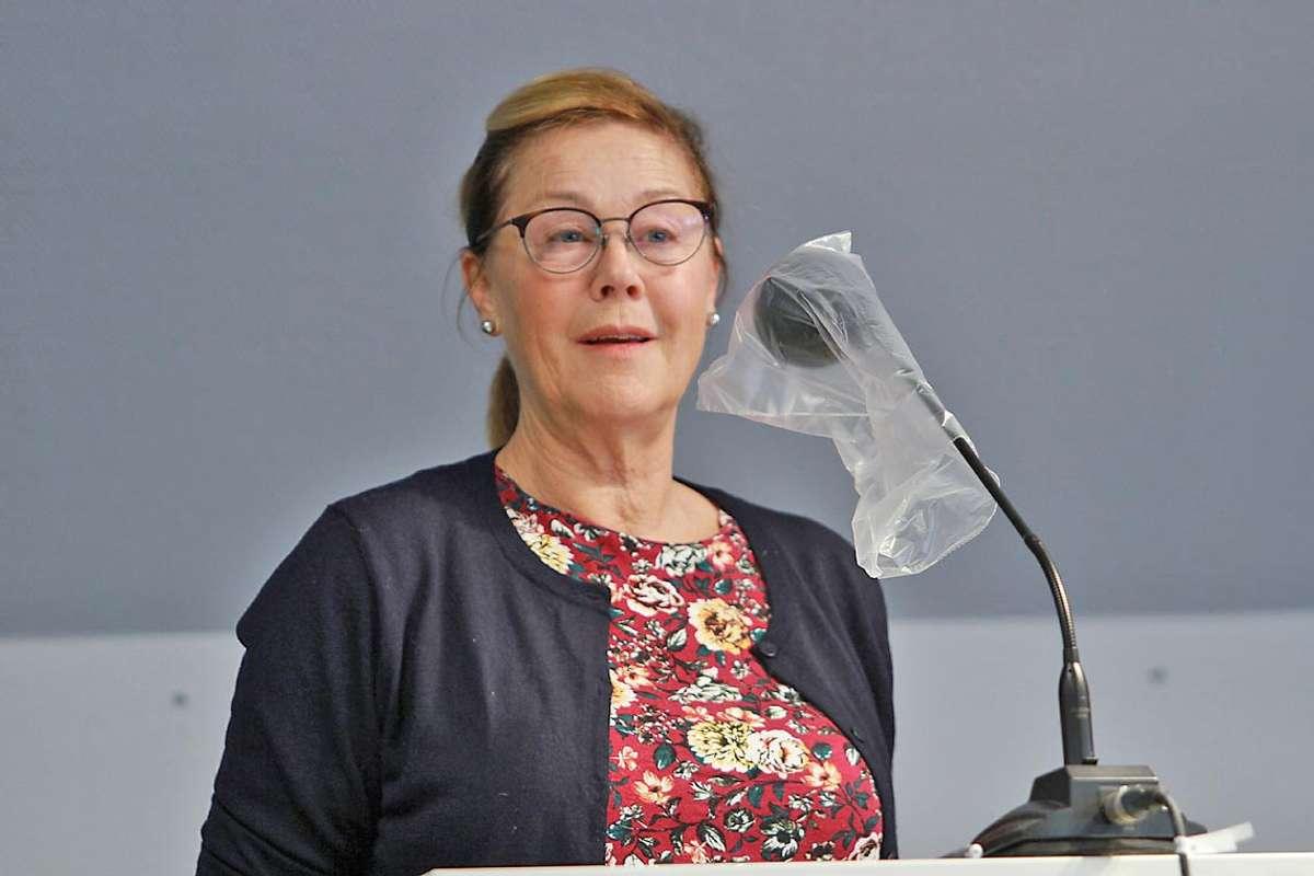Lisbeth Axelsen har engasjert Asplan Viak - og gitt dei frist til juni. (Foto: Kjetil Vasby Bruarøy)