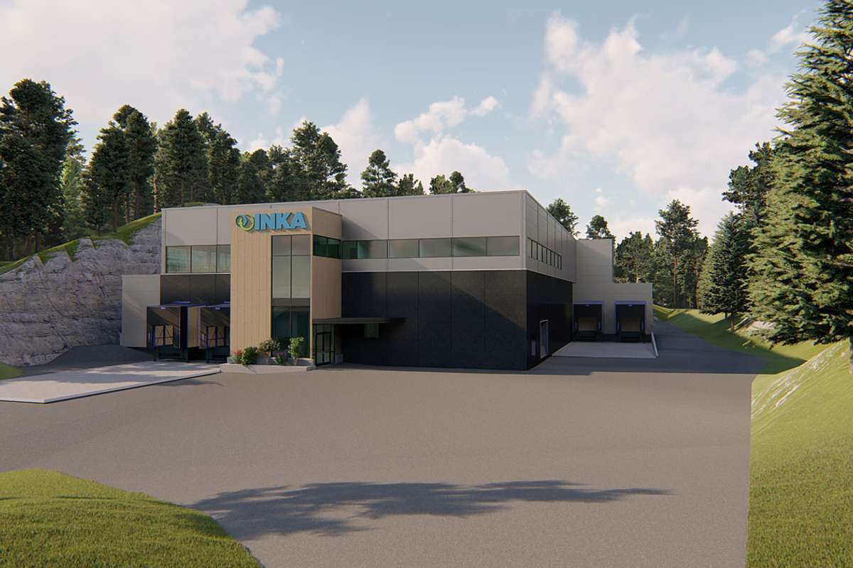 Byggestart er planlagt om få veke. Fabrikken skal stå klar på seinsommaren 2020. (HTB)