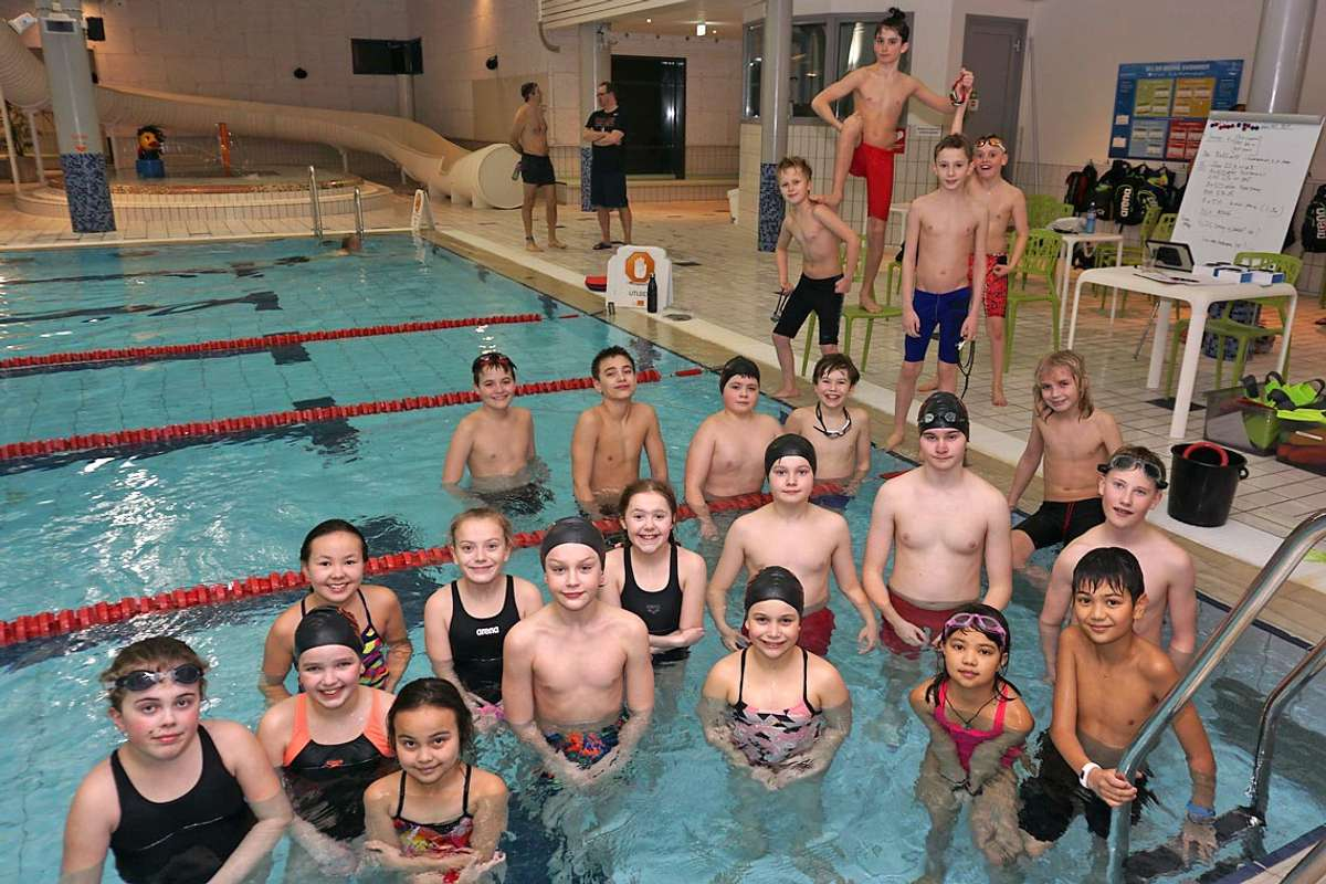 Rekord for svømmeklubben: Høg rekruttering og sterkare trenarteam