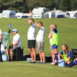 Trenarteamet før papirarbeidet viste seg å vera mangelfullt. (Foto: Vidar Hjelle)