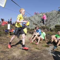 Eirik Spangelo Haga på 6. plass vann klassen 16-17 år. (Foto: KVB)