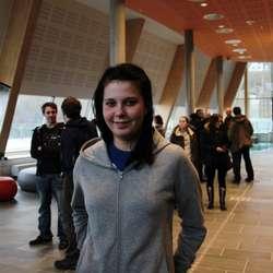 """Christine Hope gleda seg til å sjå """"Girls"""" (Foto: KMA)"""