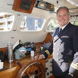 Skipssjef Roger Hoel. (Foto: KVB)