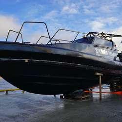 Samba Marin har no fire raske båtar med ROV og dykkarar. (Foto: KVB)