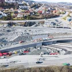 Nordås. (Foto: Statens vegvesen/Hawkeye, 26. februar 2020)
