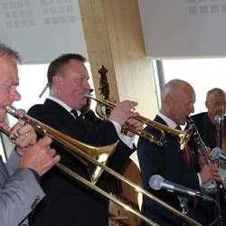 med dei alltid like stødige karane i Osøren Jazzensemble (foto: AH)