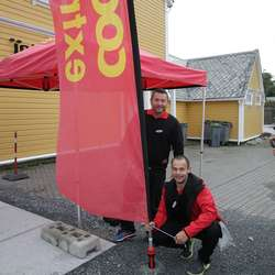 Lokale Coop-kameratar stiller opp som sponsorar. (Foto: KVB)