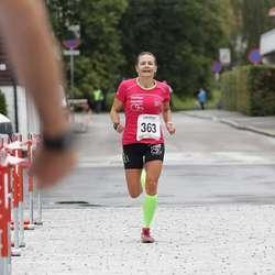 Cecilie Hagen persa og vann kvinneklassen på 29.00. (Foto: KVB)
