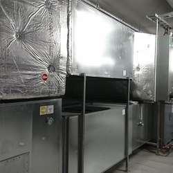 Det er store dimensjonar over ventilasjonsanlegget (foto: AH)