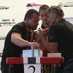 Arne Thuen (t.h.) tok 5. plass. (Privat bilde, foto: Renate Flatland)
