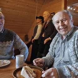 Erik Vangsnes og Geirmund Dyrdal. (Foto: KVB)