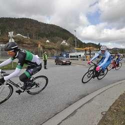 CK Henie stilte med 20-25 på dugnad, men leigde også inn tre politivaktar. (Foto: Kjetil Vasby Bruarøy)